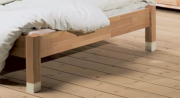 holzbett mit zwei getrennten kopfteilen bett barletta. Black Bedroom Furniture Sets. Home Design Ideas
