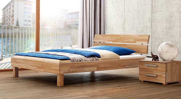 Bett Amerigo aus Holz