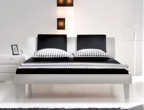 Bett weiß modern  Designerbetten günstig online erwerben bei BETTEN.de