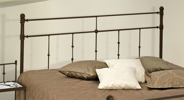 Romantisches Bett Astara mit filigranem Kopfteil
