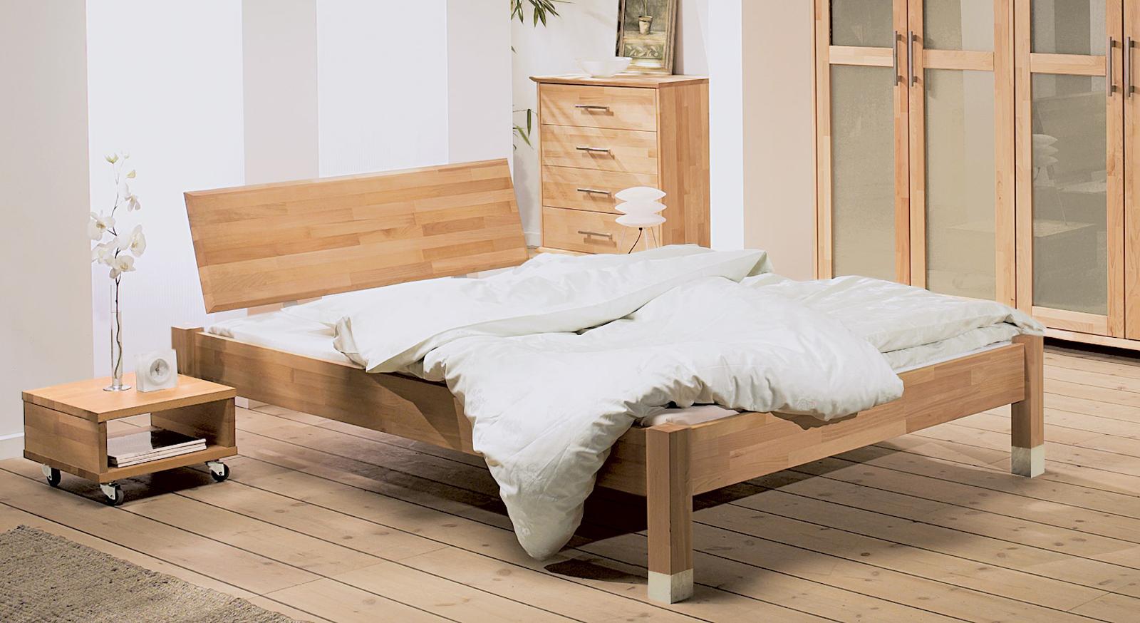 eichenbett bzw buchenbett g nstig online kaufen bergamo. Black Bedroom Furniture Sets. Home Design Ideas