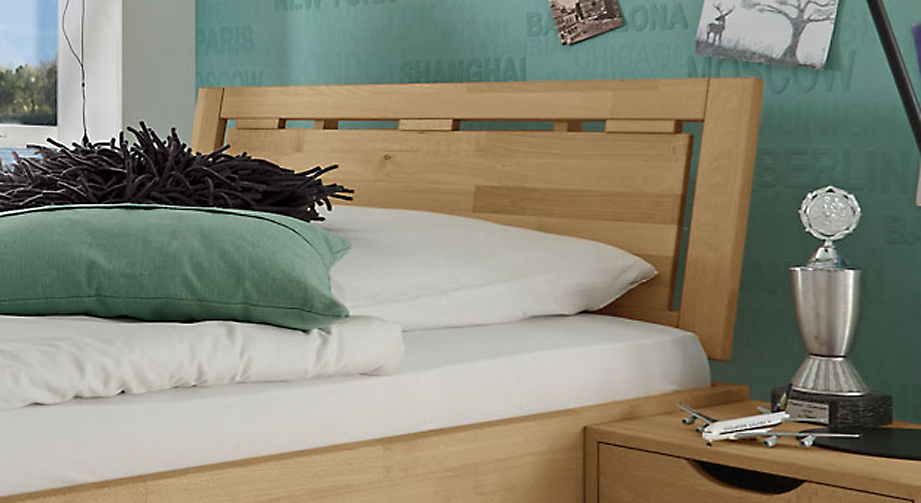 Zeitloses Bett Birmingham inklusive Kopfteil