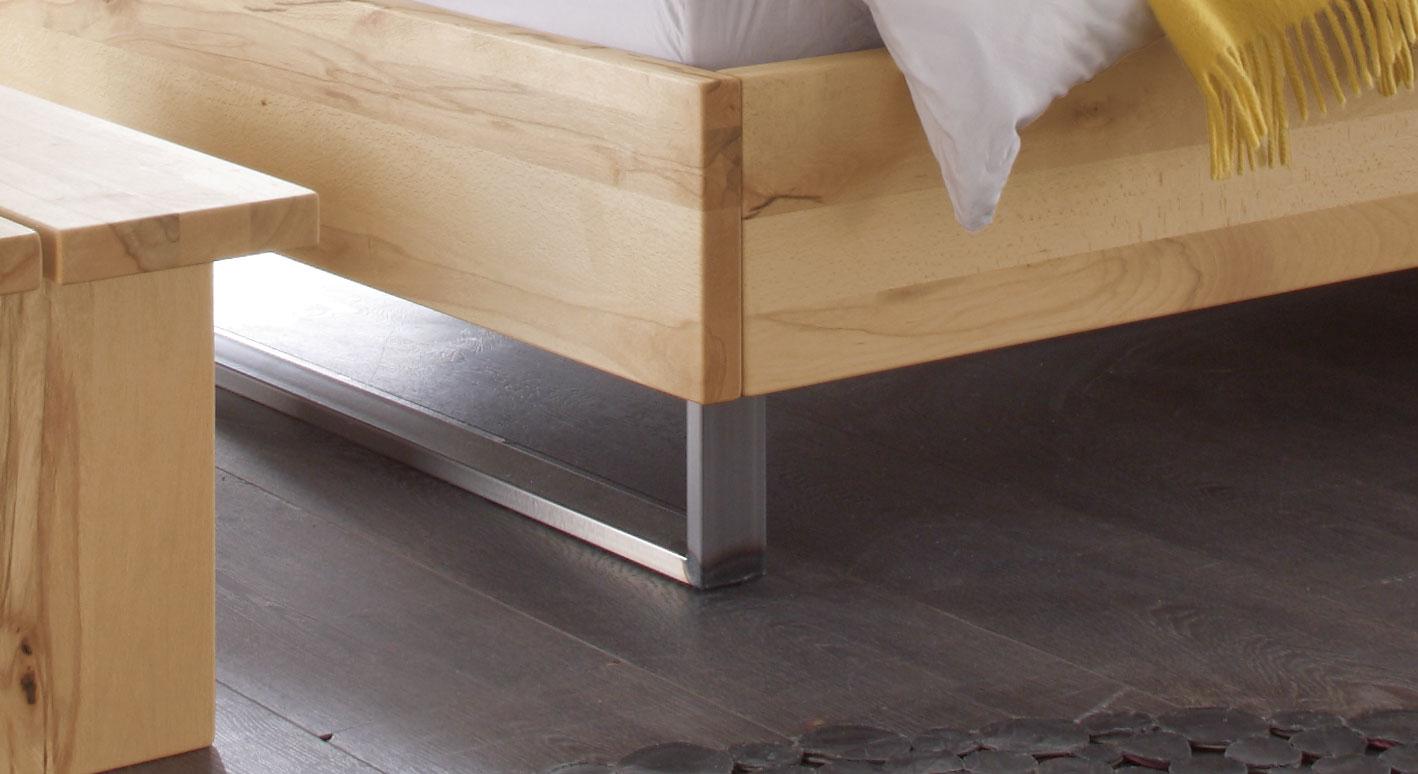 Bett Dondo mit Kufen aus Stahl