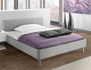 stoffbetten bettgestelle mit stoffbezug g nstig kaufen. Black Bedroom Furniture Sets. Home Design Ideas