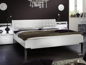 komplett-schlafzimmer weiß mit strasssteinen - huddersfield