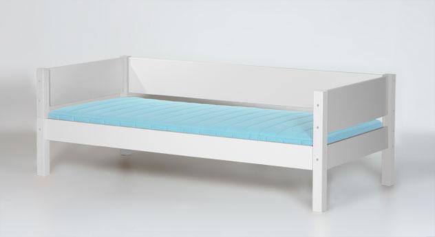 Multifunktionales Bett in Weiß oder Anthrazit - Kids Town