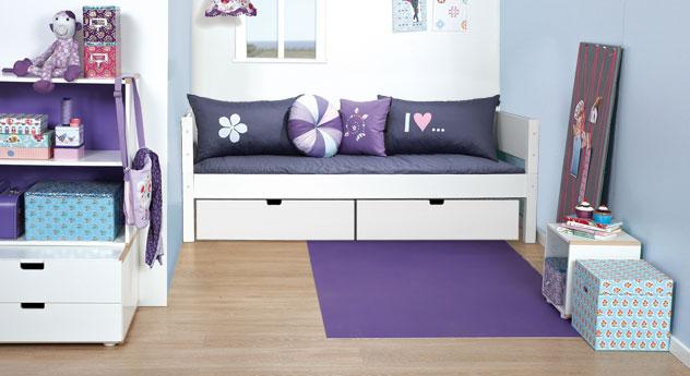 Sitzsack platzsparende Ideen Wohnzimmer