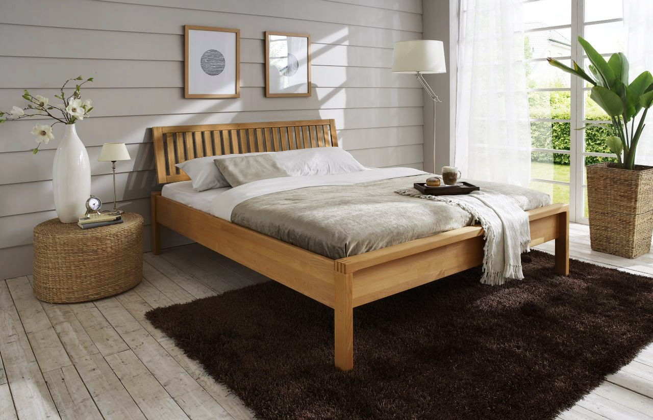 einzel bett holz alle ideen ber home design. Black Bedroom Furniture Sets. Home Design Ideas