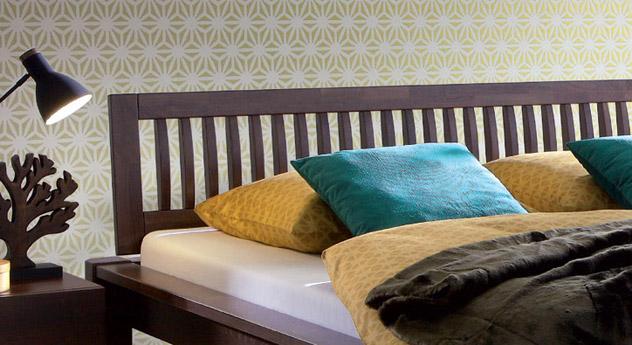 pin bett und kopfteil brimnes von ikea via home network. Black Bedroom Furniture Sets. Home Design Ideas