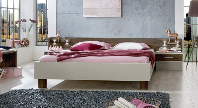 Bett Moa im modernen Design