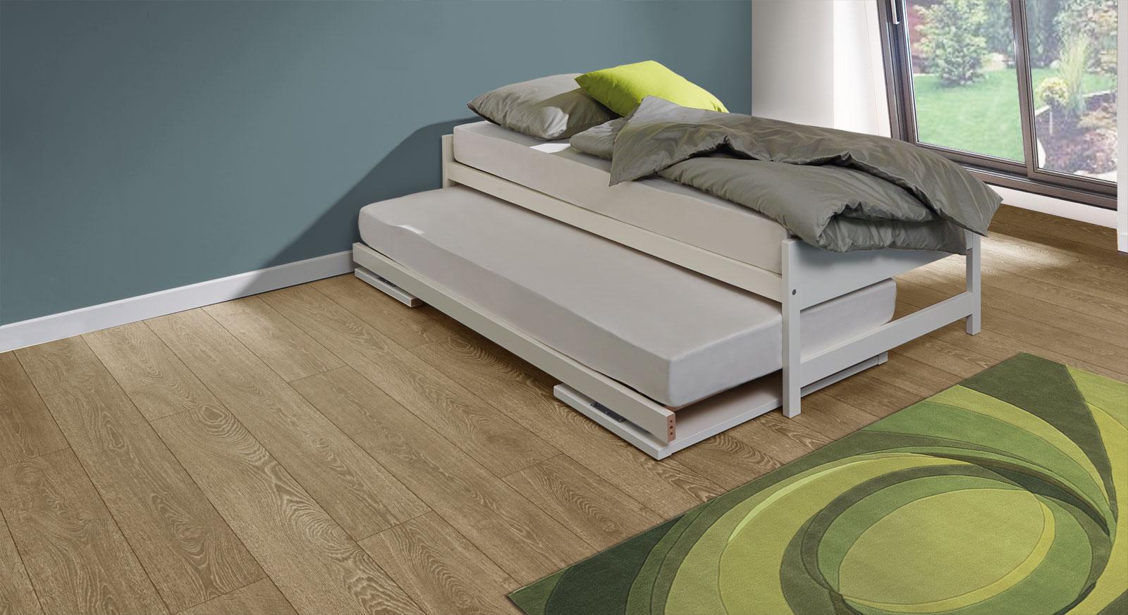 Bett On Top erweist sich dank Unter- und Oberbett als sehr platzsparend