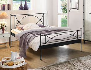 eisenbetten modern und antik g nstig kaufen. Black Bedroom Furniture Sets. Home Design Ideas