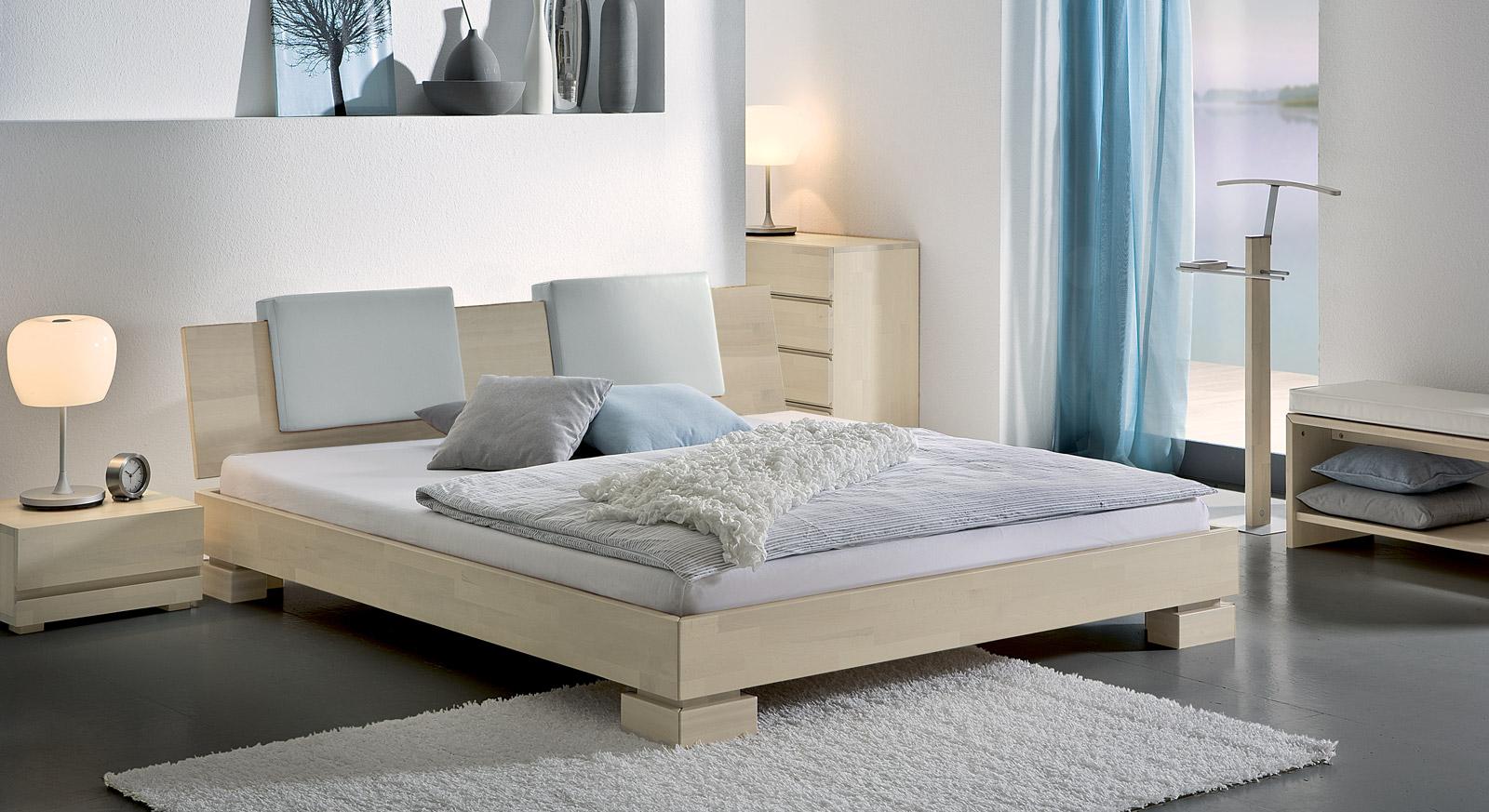 Bett Paradiso Bianco mit passenden Produkten