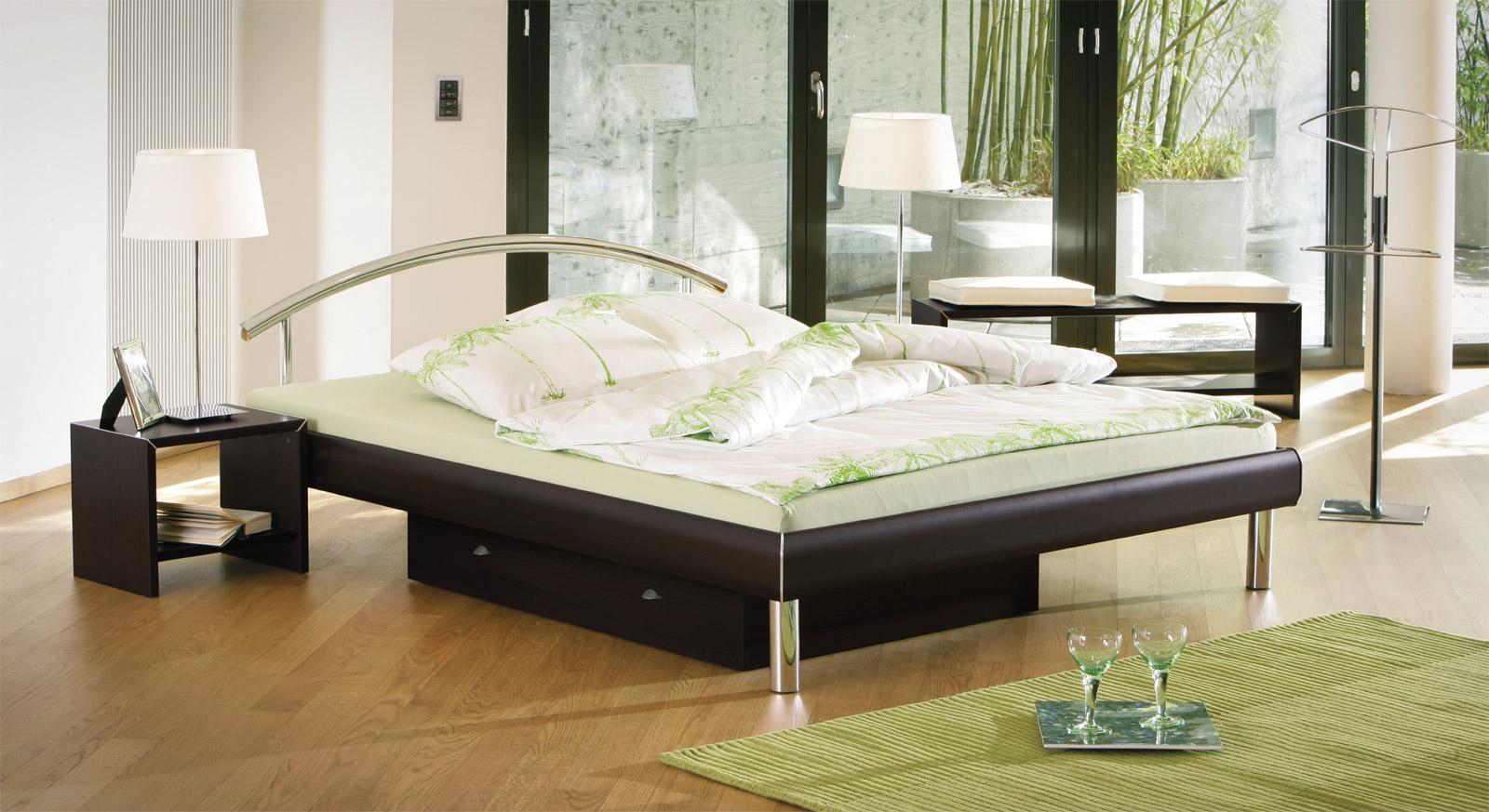 Bett Parla - Farbe Ferrara in außergewöhnlichem Design