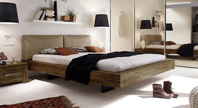 Bett Penco aus Akazie in Braun