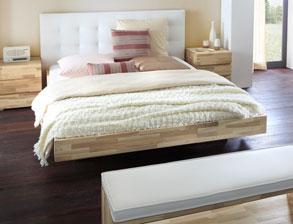 bettgestelle aus kernesche preiswert bestellen. Black Bedroom Furniture Sets. Home Design Ideas