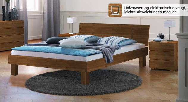 """Genügend Auswahl hinsichtlich Größe und Farbe bei Bett """"Riga"""""""