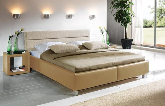 polsterbett sanremo in schwarzem kunstleder g nstig. Black Bedroom Furniture Sets. Home Design Ideas