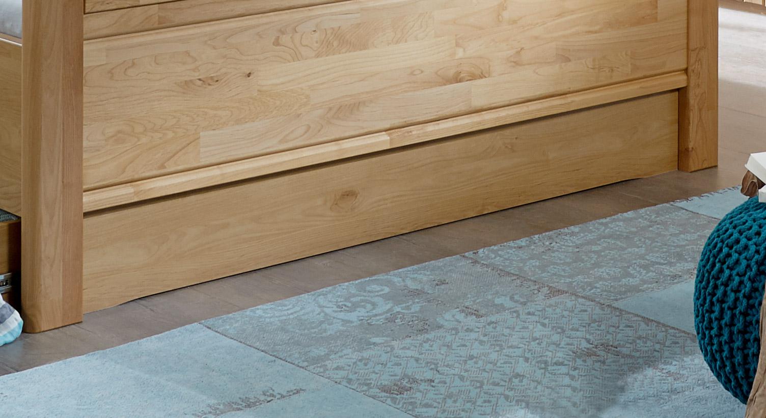 Bett-Schubkasten Trikomo inklusive Fußteilverblendung