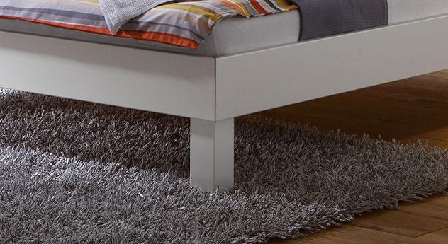 Bett Sierra in verschiedenen Fußhöhen