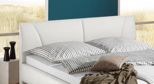 Bett Sona mit komfortabel gepolstertem Kopfteil