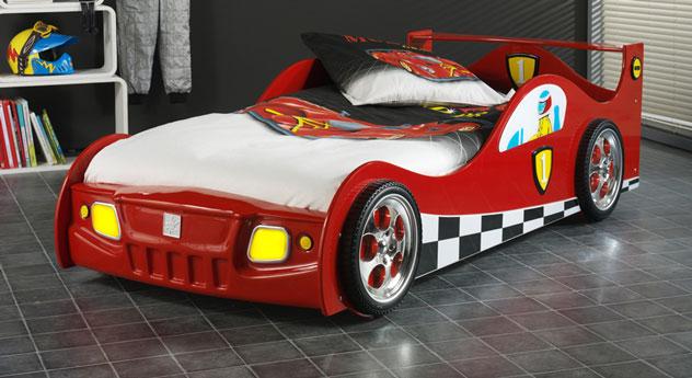 Außergewöhnliches Kinderbett Speedfighter