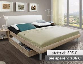 Einzelbett design  Einzelbetten in z.B. 90x200 cm und anderen Größen | BETTEN.de