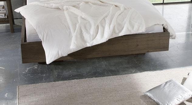 Bett Timaru mit versteckten Füßen