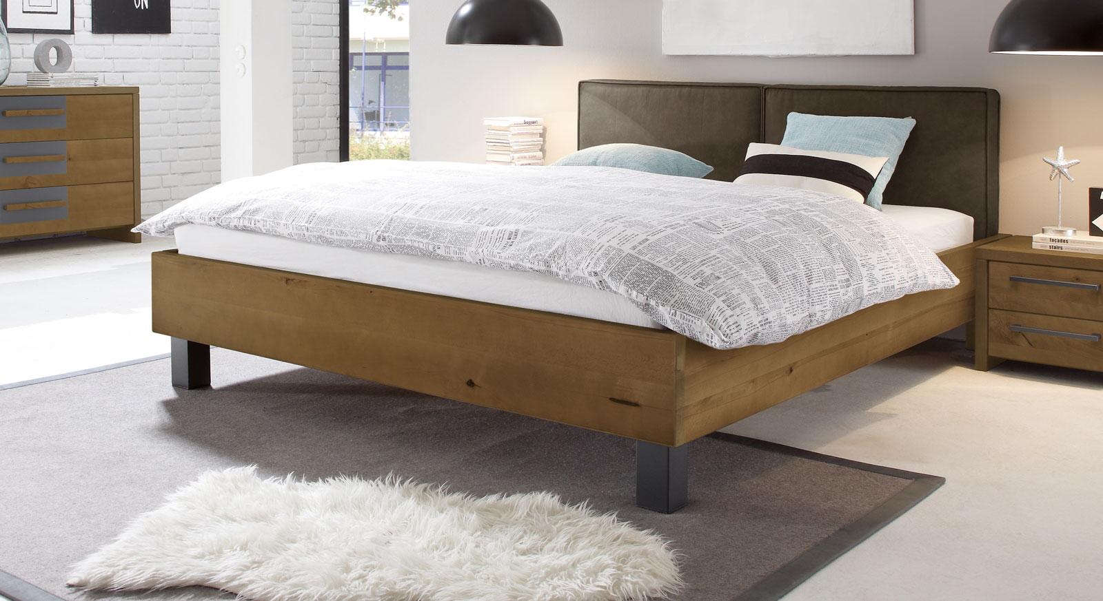 bett in vollholz buche in z b 140x200 cm tonala. Black Bedroom Furniture Sets. Home Design Ideas