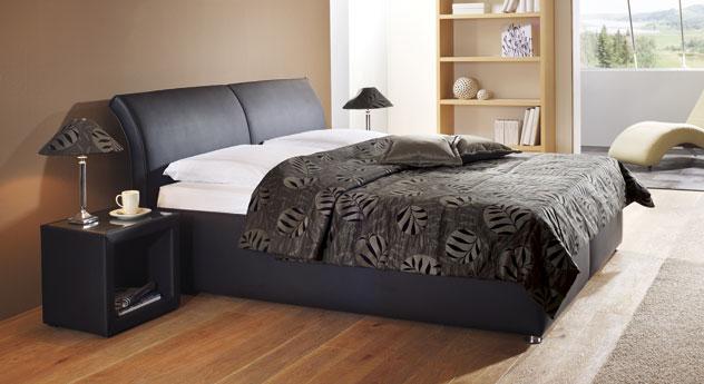 polsterbett trapani mit bettkasten in z b 180x200 cm. Black Bedroom Furniture Sets. Home Design Ideas