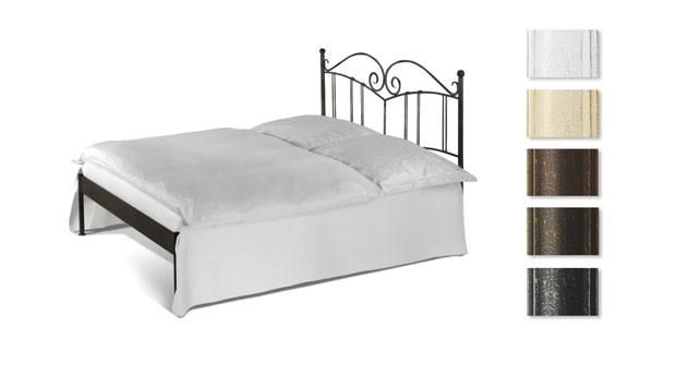Bett Vella optional ohne Fußteil