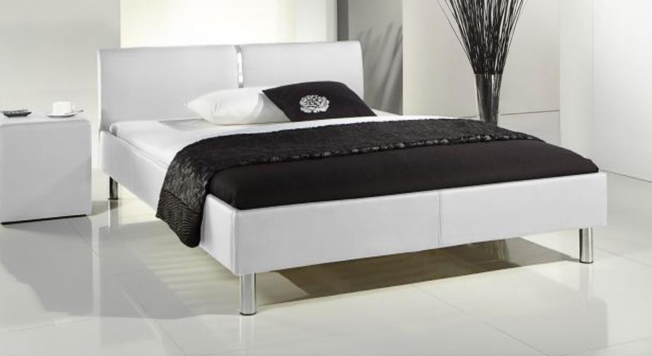 Bett Victorville Design stilvoll weiß