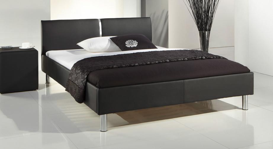 Bett Victorville schlicht schwarz