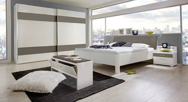 pin komplett mit spiegel bank schrank garderobenm bel hochglanz on pinterest. Black Bedroom Furniture Sets. Home Design Ideas