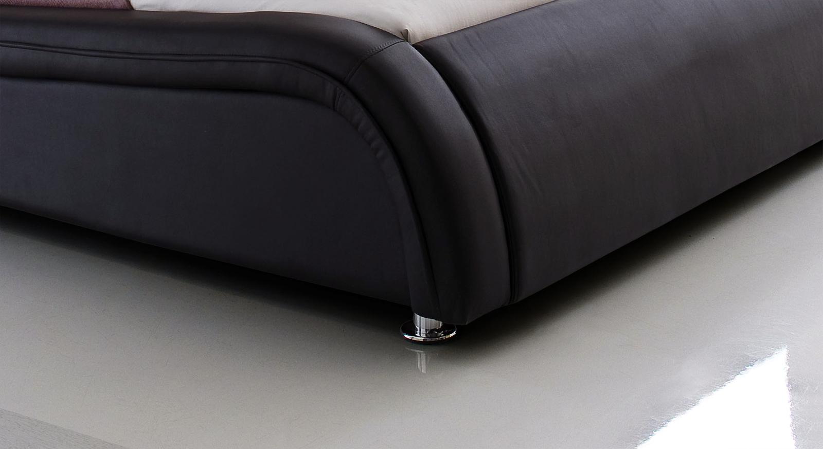 Bett Aberdeen Bettbeine zylindrische Chromfüße