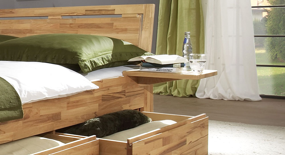 Bett Andalucia Ablage Nachttisch