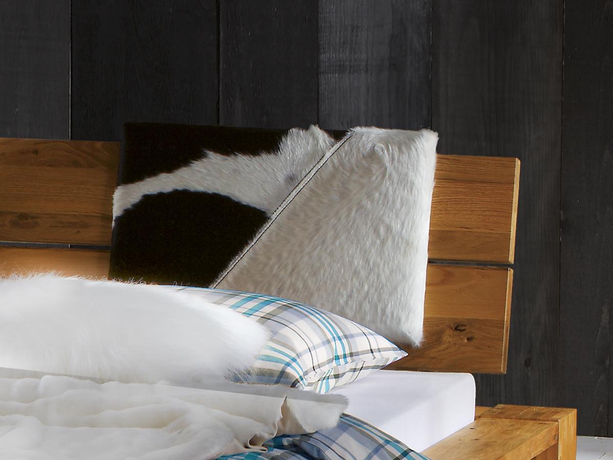 Bett Aragon Kopfteil mit Rückenkissen