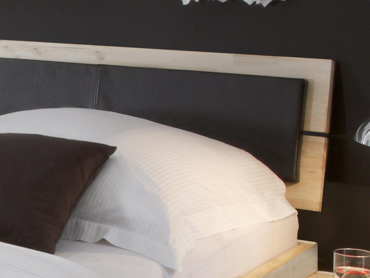 Bett Arezzo Kopfteil mit optionalem Polster