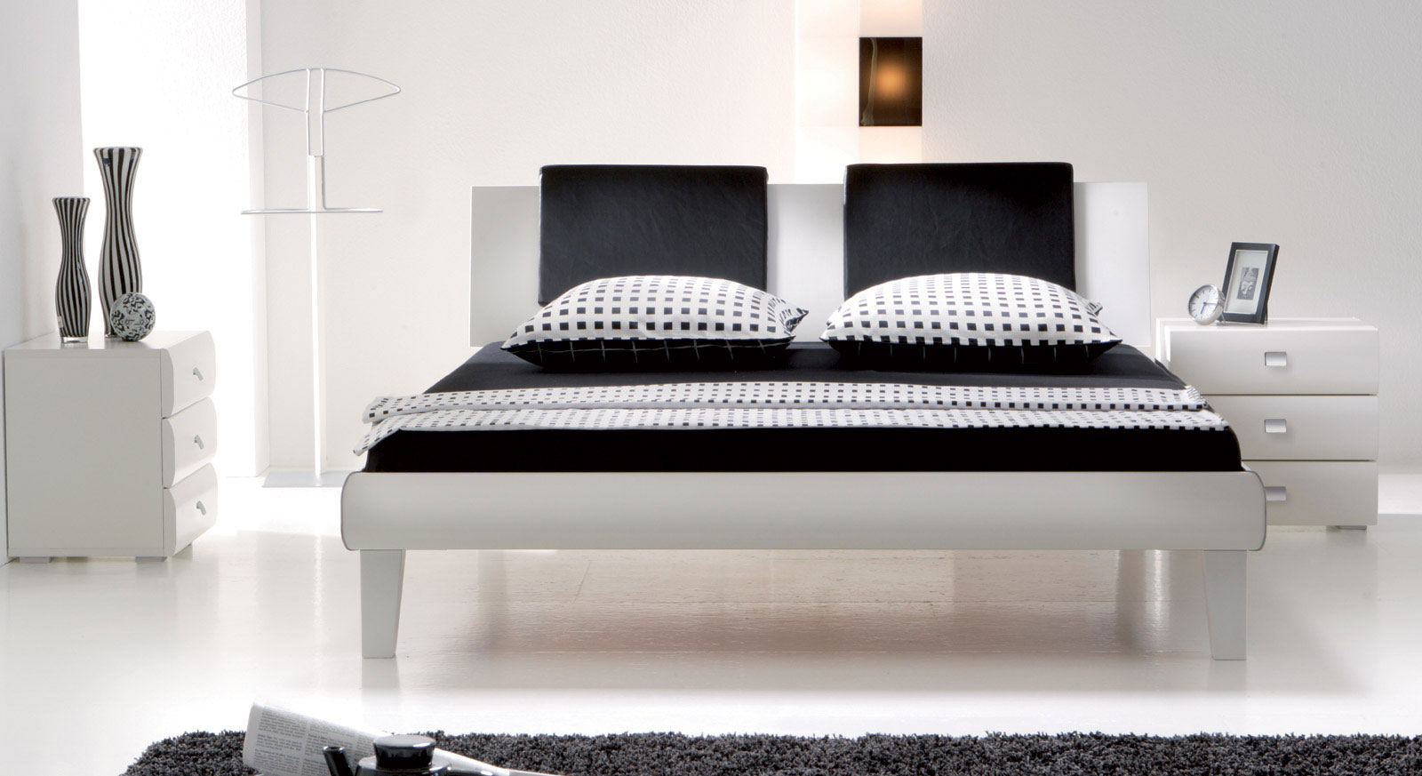 designerbett in z b 140x200 cm auf rechnung arona. Black Bedroom Furniture Sets. Home Design Ideas