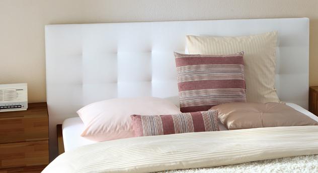 Bett Bianco Deluxe Wandpaneel Kopfteil