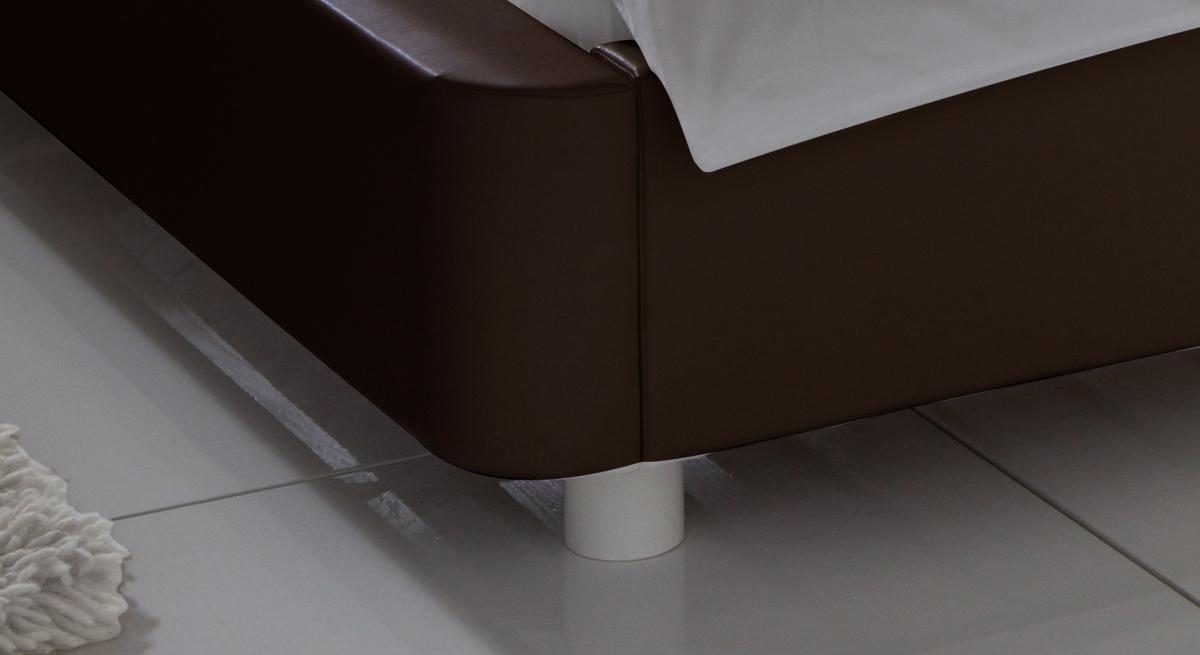Bett Harmony Bettbeine Füße abgerundet