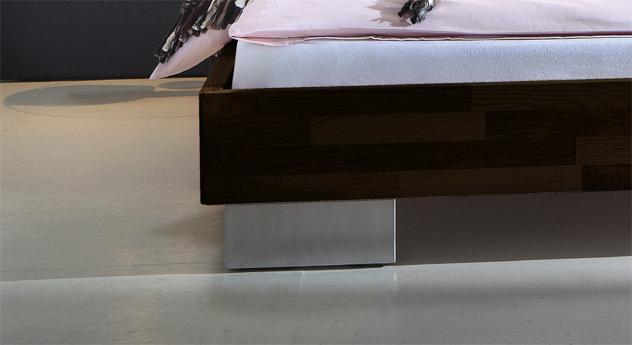 Bett Miami Bettbeine Edelstahl Füße