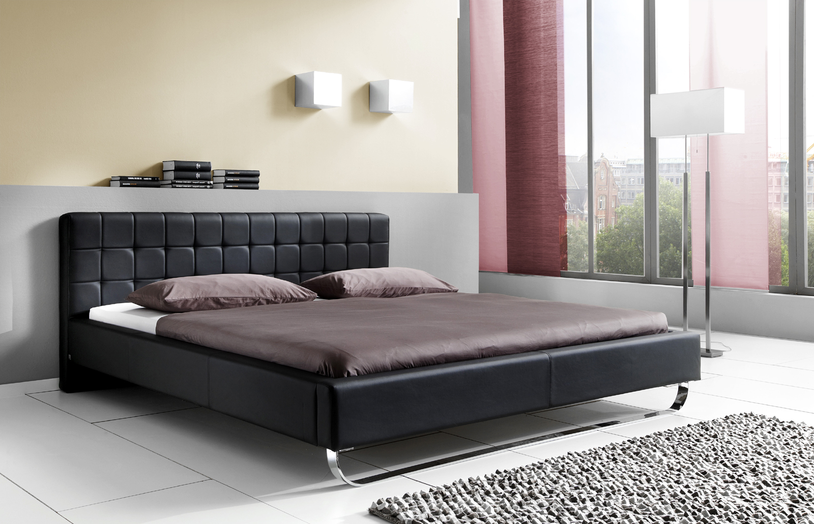 faszinierend bett f r kleine r ume bilder erindzain. Black Bedroom Furniture Sets. Home Design Ideas