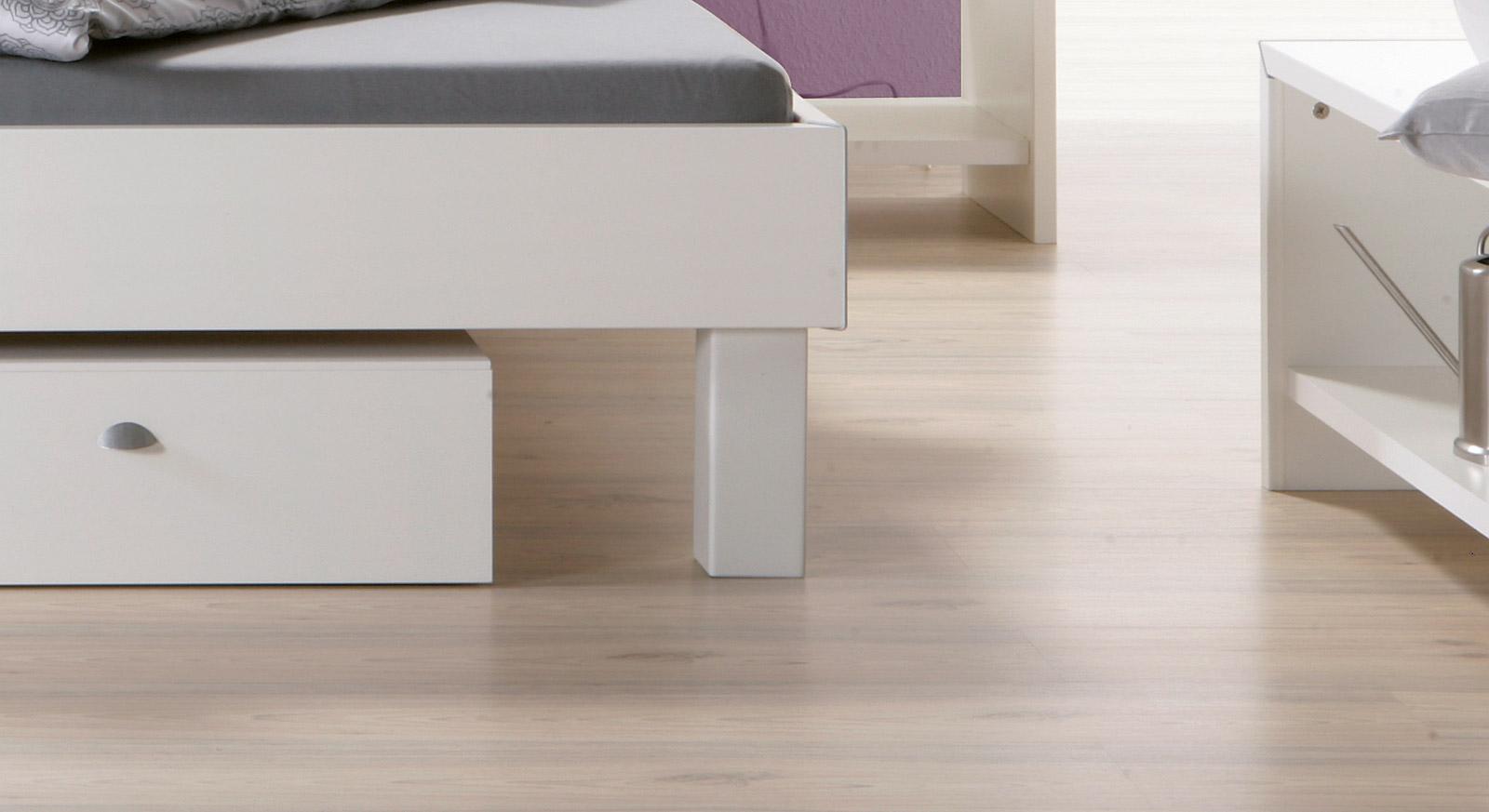 Bett Pesaro Bettbeine Fußhöhe 20cm oder 25cm
