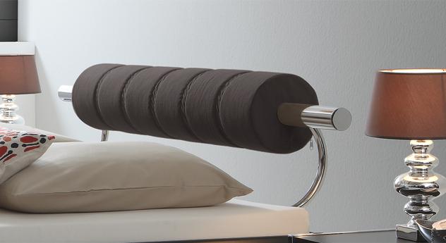 Designerbett Rocio mit Kopfteil