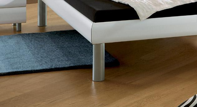 Bett Trentino Bettbeine Metallfüße in 3 Höhen erhältlich