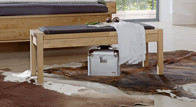 Bettbank Fria aus Erle Massivholz