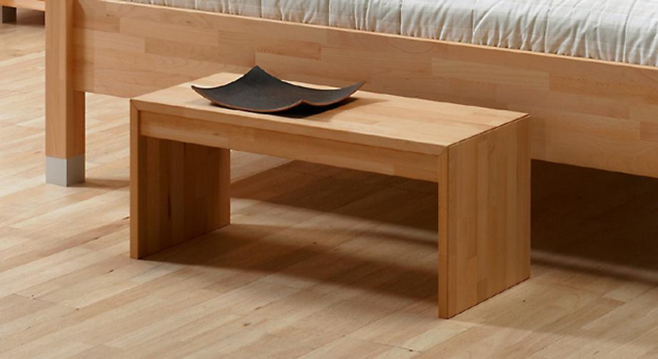 moderne bettbank aus massiver buche oder eiche bergamo. Black Bedroom Furniture Sets. Home Design Ideas