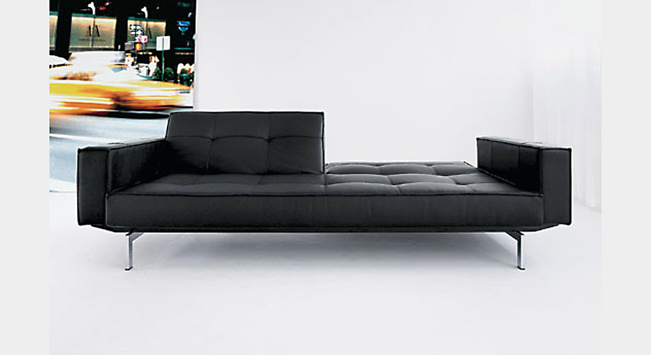 Bettsofa Flash Light Deluxe Schwarz