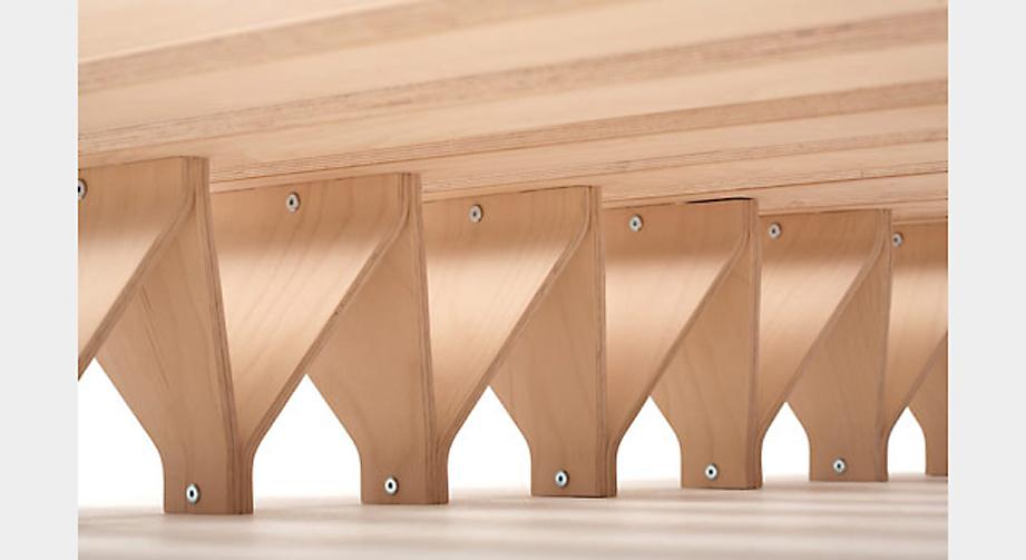Bettsystem Tojo Lieg Fusskonstruktion